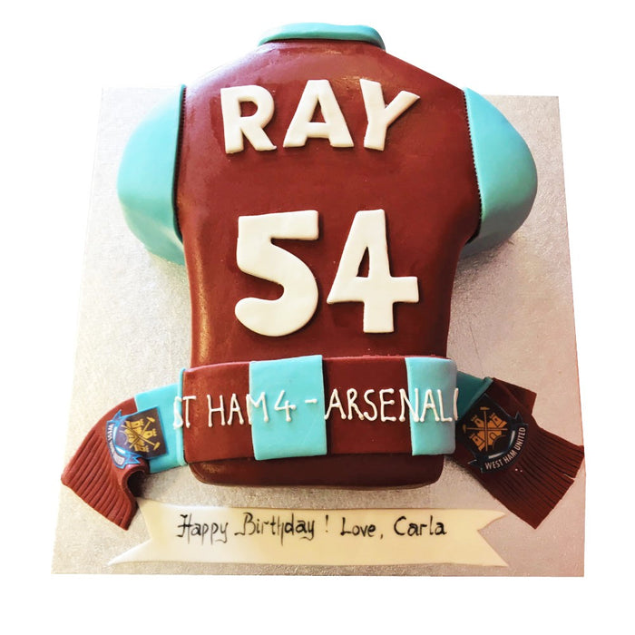 Football Cake - Last minute cakes delivered tomorrow!