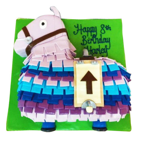 Fortnite Pinata Cake - Last minute cakes delivered tomorrow!