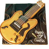 Guitar Cake - Last minute cakes delivered tomorrow!