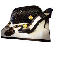 Designer Handbag & shoe Cake - Last minute cakes delivered tomorrow!
