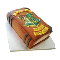 Harry Potter Spell Book Cake - Last minute cakes delivered tomorrow!