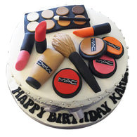 Mac Makeup Cake - Last minute cakes delivered tomorrow!