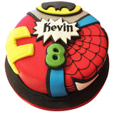 Marvel Cake - Last minute cakes delivered tomorrow!