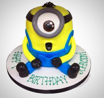 Minion Birthday Cake Buy Online Free UK Delivery New Cakes