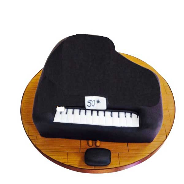 Piano Cake - Last minute cakes delivered tomorrow!