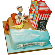 Punch and Judy Cake - Last minute cakes delivered tomorrow!