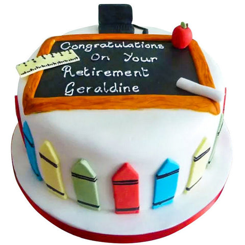 Retire Cake - Last minute cakes delivered tomorrow!