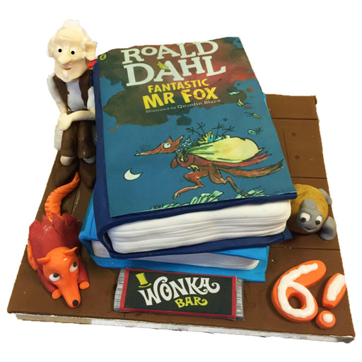 Roald Dahl Book Cake - Last minute cakes delivered tomorrow!