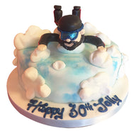 Sky Diving Cake - Last minute cakes delivered tomorrow!