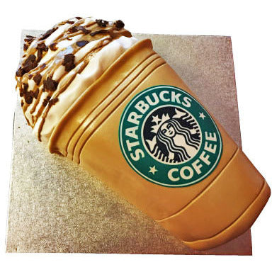 Starbucks Coffee Cake - Last minute cakes delivered tomorrow!