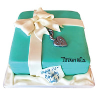 Tiffany Box Cake - Last minute cakes delivered tomorrow!