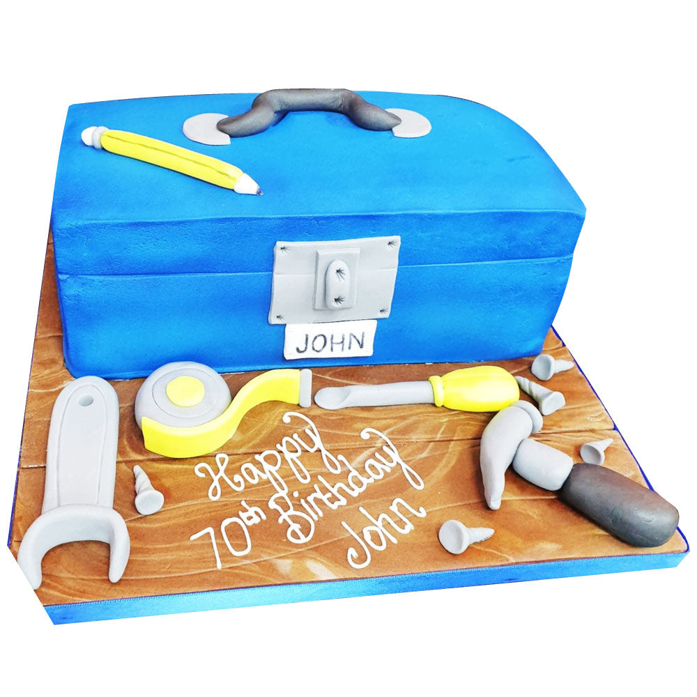 Toolbox Cake - Buy Online, Free UK Delivery - New Cakes