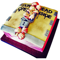 The Walking Dead Cake - Last minute cakes delivered tomorrow!