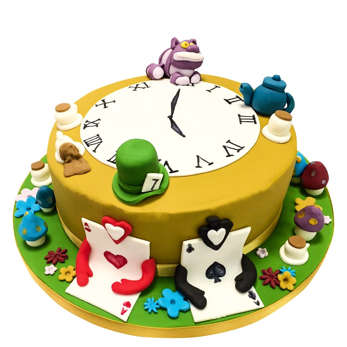 Sensational Alice In Wonderland Cake Buy Online Free Uk Delivery New Cakes Personalised Birthday Cards Cominlily Jamesorg
