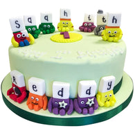 Alphablocks Cake - Last minute cakes delivered tomorrow!