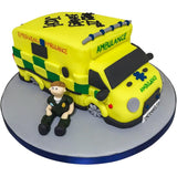 Ambulance / Paramedic Cake - Last minute cakes delivered tomorrow!