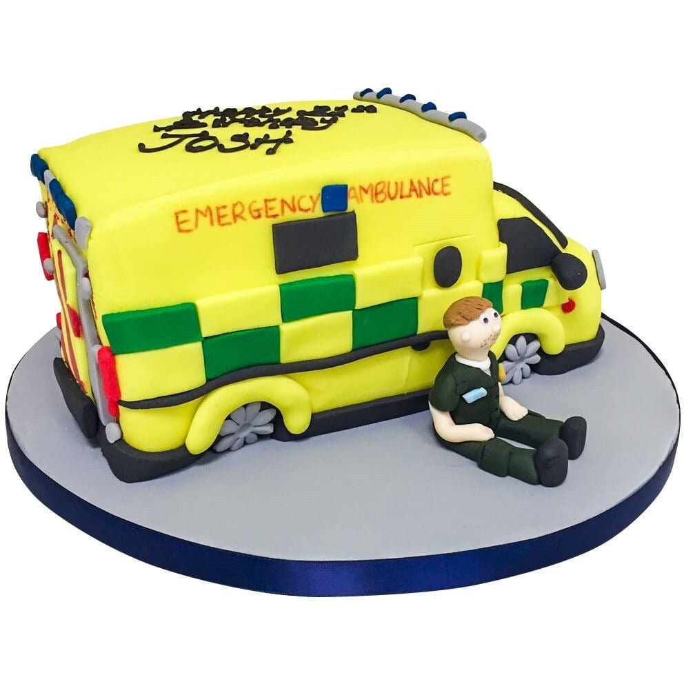 Ambulance Cake 16995 Buy Online Free Uk Delivery New Cakes