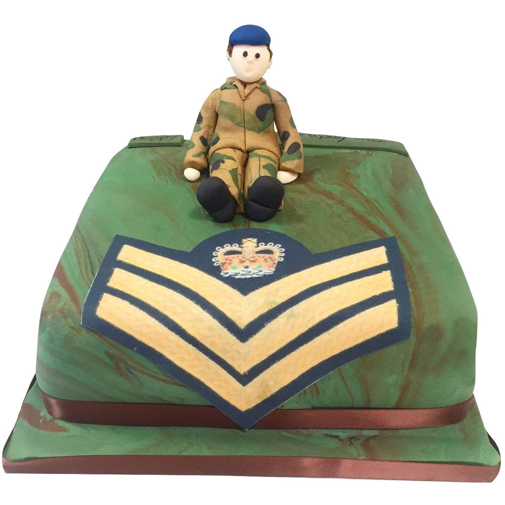 Army Uniform Cake 163 79 95 Buy Online Free Uk Delivery
