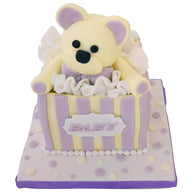 Baby Shower Teddy Bear Cake - Last minute cakes delivered tomorrow!