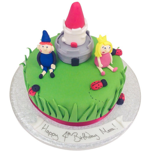 Ben and Holly Cake - Last minute cakes delivered tomorrow!