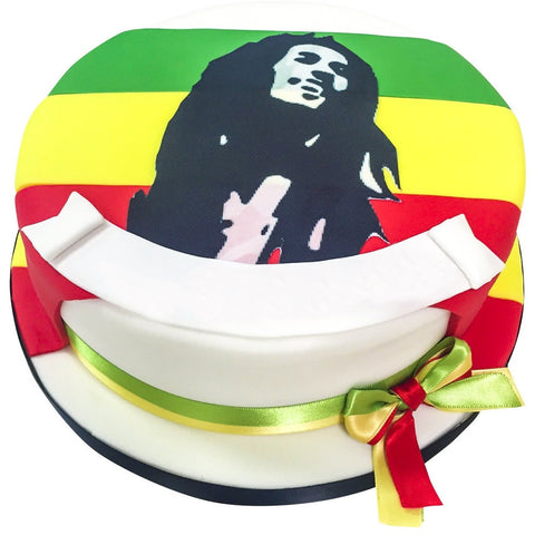 Bob Marley Cake - Last minute cakes delivered tomorrow!