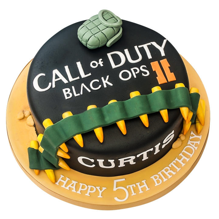 Cool Call Of Duty Cake Buy Online Free Uk Delivery New Cakes Funny Birthday Cards Online Inifodamsfinfo