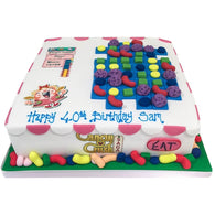 Candy Crush Cake - Last minute cakes delivered tomorrow!