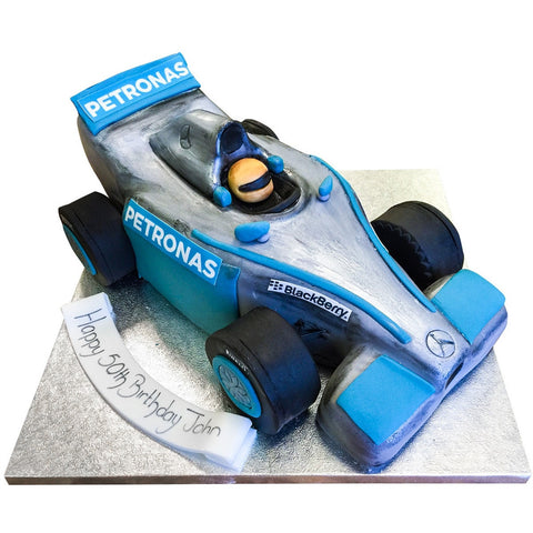 F1 Car Cake - Last minute cakes delivered tomorrow!