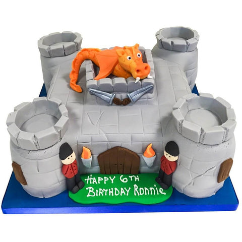 Castle Cake - Last minute cakes delivered tomorrow!