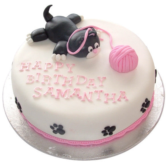 Strange Cat Birthday Cake Buy Online Free Uk Deliver New Cakes Personalised Birthday Cards Paralily Jamesorg
