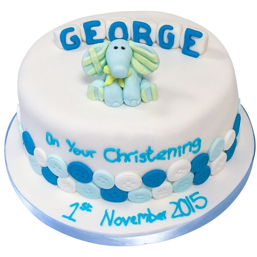Christening Cake - Last minute cakes delivered tomorrow!