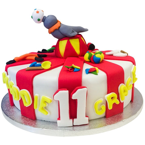 Circus Cake - Last minute cakes delivered tomorrow!