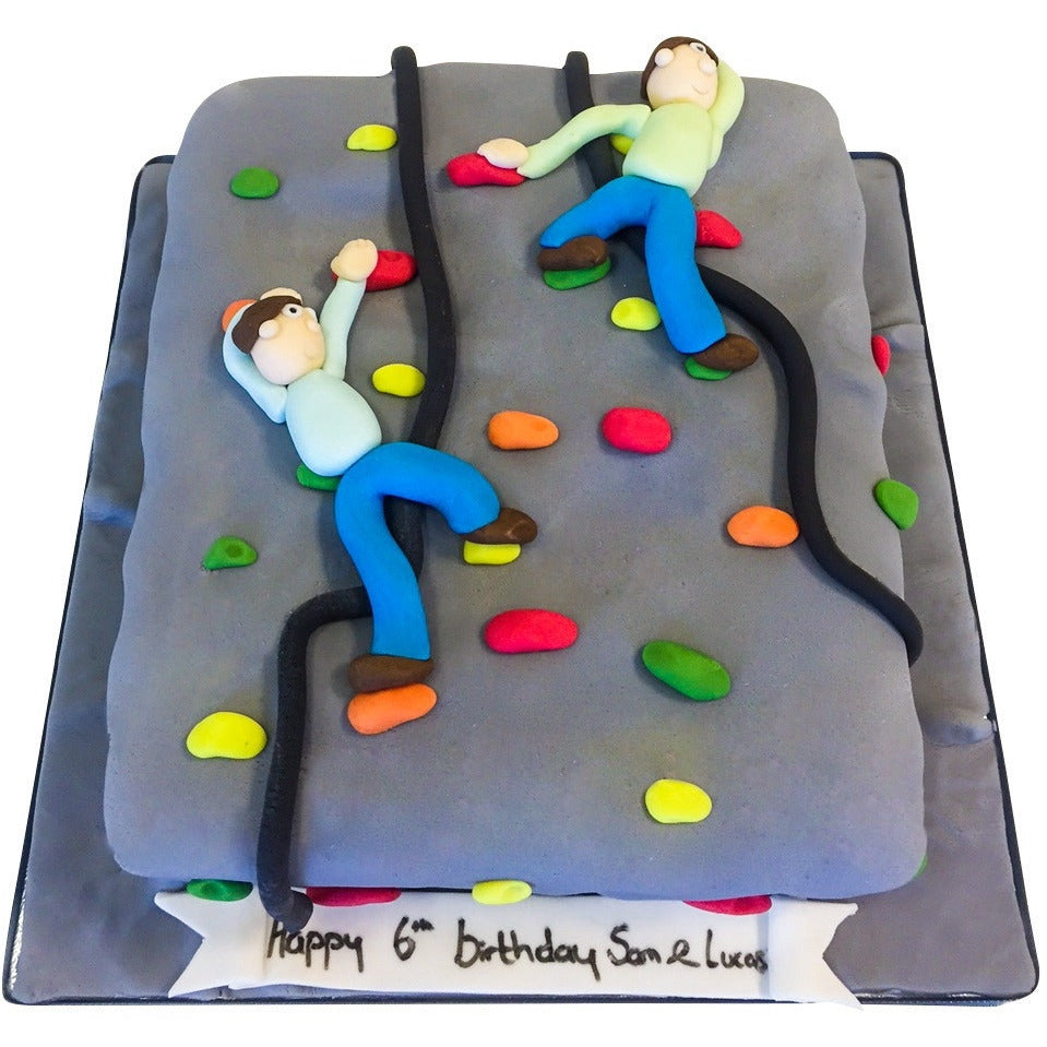 Climbing Wall Cake Buy Online Free Uk Delivery New Cakes
