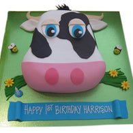 Cow Cake - Last minute cakes delivered tomorrow!