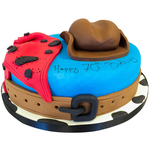Cowboy Cake - Last minute cakes delivered tomorrow!