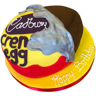 Cadburys Creme Egg Cake - Last minute cakes delivered tomorrow!