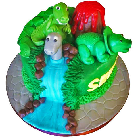 Dinosaur Cake - Last minute cakes delivered tomorrow!