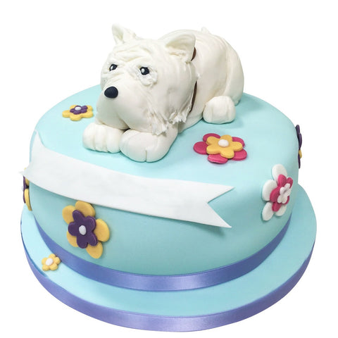 Westie Dog Cake - Last minute cakes delivered tomorrow!