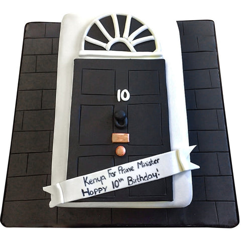 Downing Street Cake - Last minute cakes delivered tomorrow!