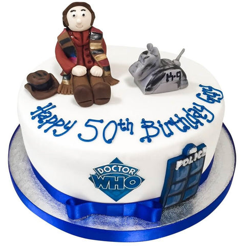 Dr Who Cake - Last minute cakes delivered tomorrow!