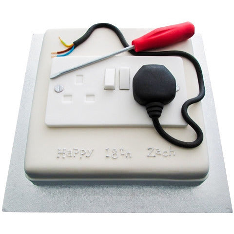 Electrician Cake - Last minute cakes delivered tomorrow!