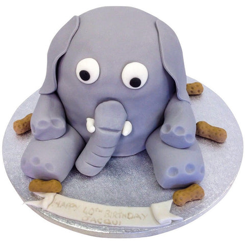 Elephant Cake - Last minute cakes delivered tomorrow!