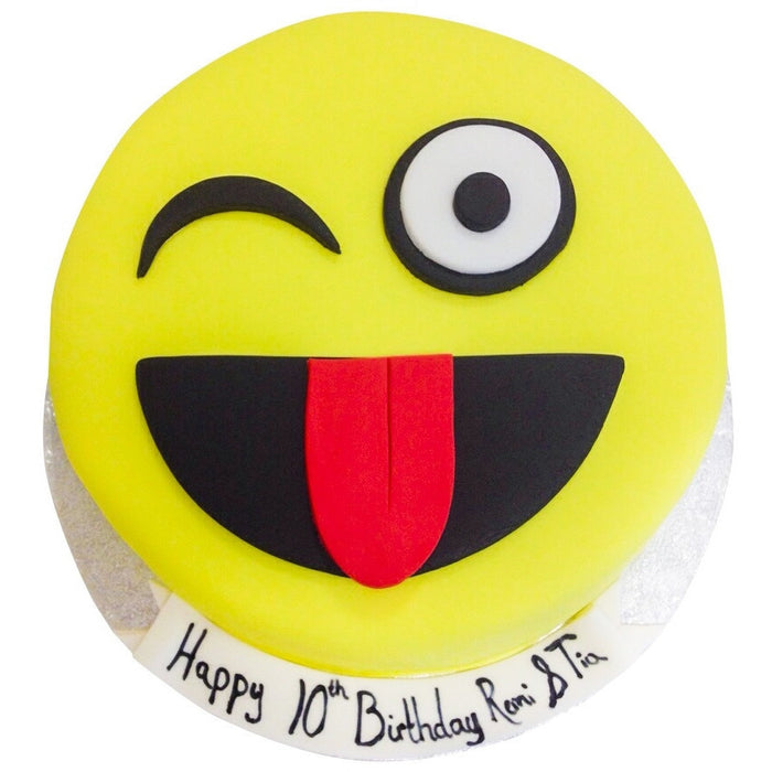 Emoji Cake - Last minute cakes delivered tomorrow!