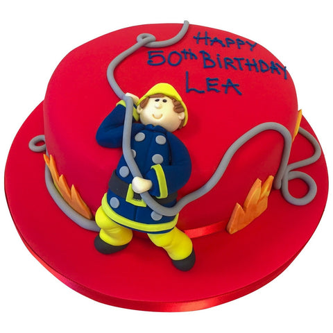 Fireman Sam Cake - Last minute cakes delivered tomorrow!