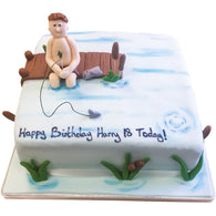 Fishing Cake - Last minute cakes delivered tomorrow!