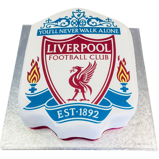 Liverpool Football Cake - Last minute cakes delivered tomorrow!