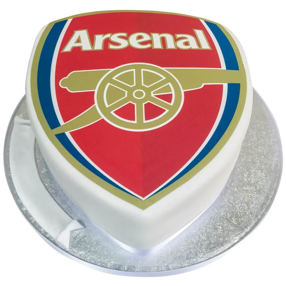Arsenal Football Badge Cake Buy Online Free UK Delivery New Cakes