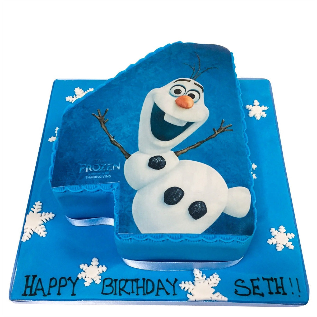 Pleasing Olaf Frozen Birthday Cake Buy Online Free Uk Delivery New Cakes Personalised Birthday Cards Sponlily Jamesorg