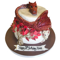Game of Thrones Dragon Cake - Last minute cakes delivered tomorrow!