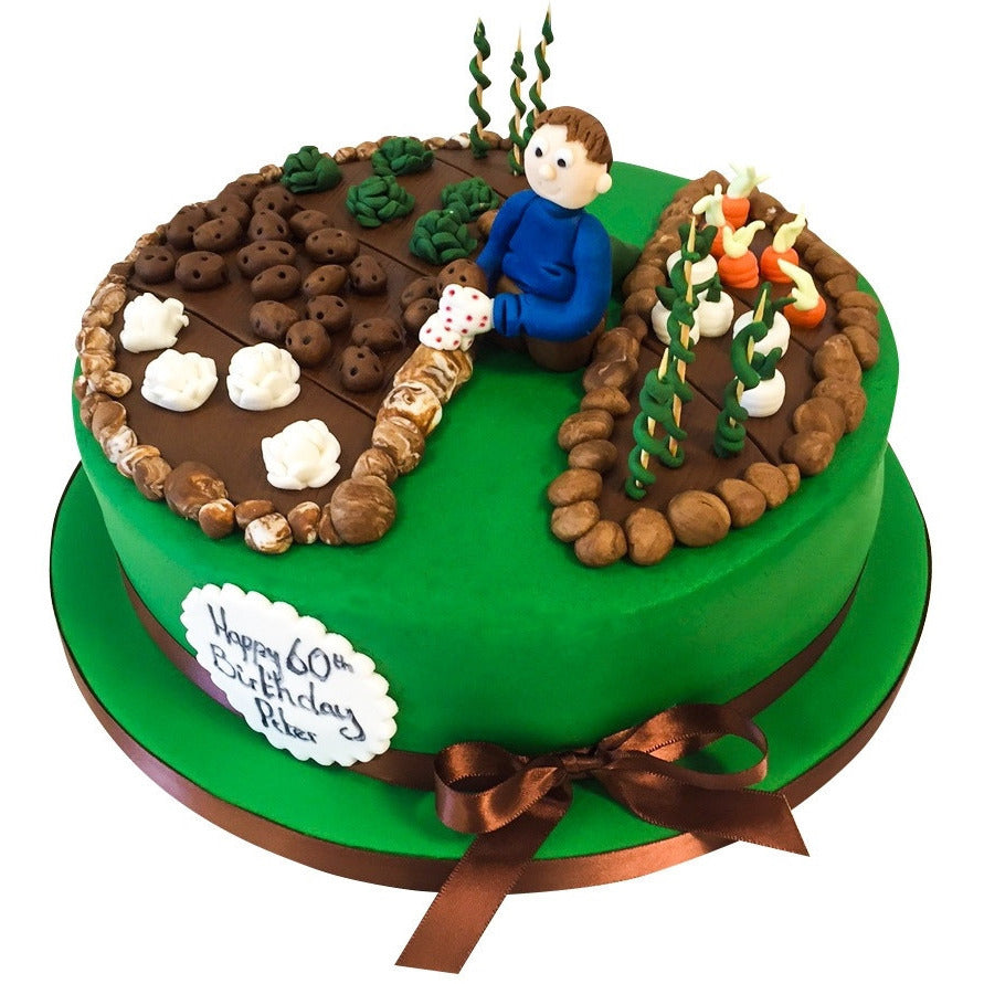 Gardening / Allotment Cake - Buy Online, Free UK Delivery – New Cakes